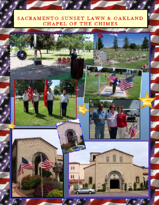 Memorial Day at Chapel of the Chimes Oakland