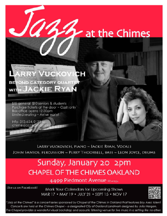 Jazz at the Chimes - January 2013