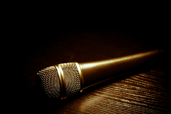 Dark microphone