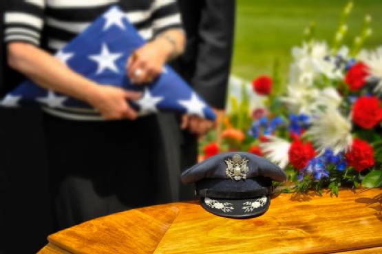 WWII Veteran Funeral