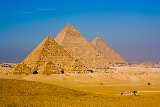 Amazing Great Pyramids of Giza, Egypt
