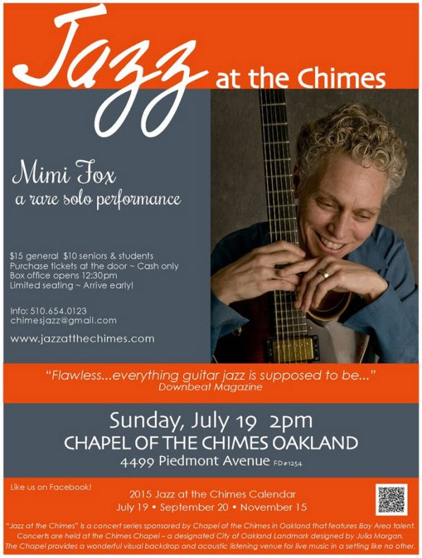 Jazz at the Chimes - Mimi Fox